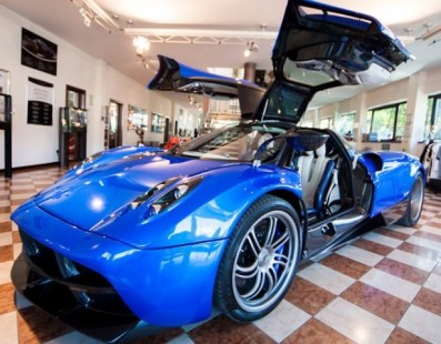 Pagani: inside the atelier