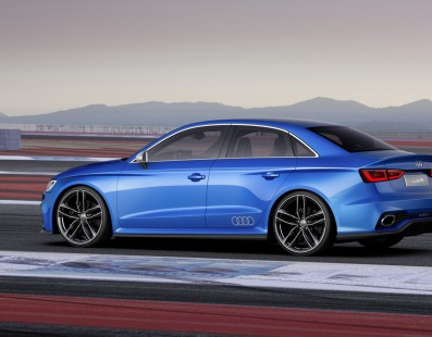 Audi A3 Clubsport. Cues for next RS3