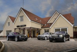 Rolls Royce London: the best showroom in the world