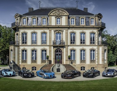 Bugatti: Six legends for posterity