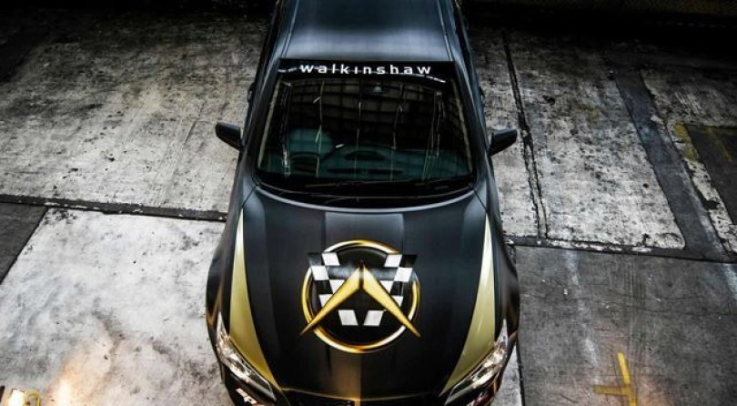 Walkinshaw Commodore with 750hp
