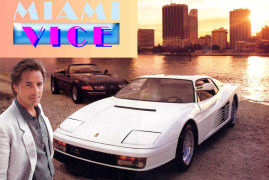 Miami Vice's Testarossa on eBay