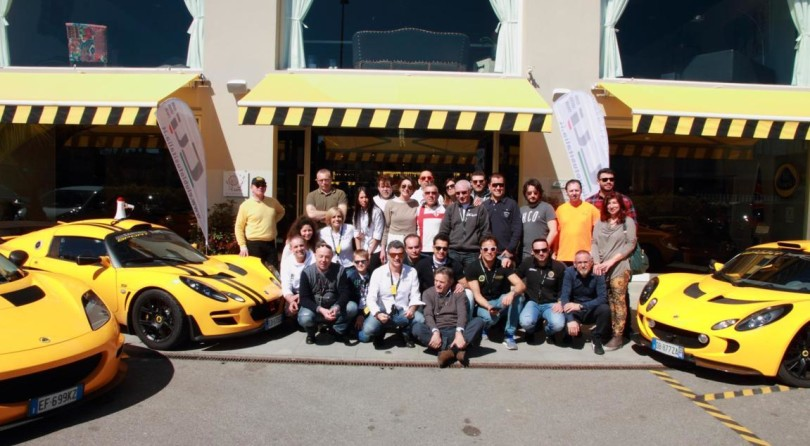 Club Lotus Italy: Reunion on track