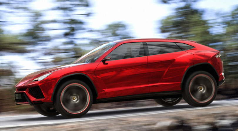 Über SUV: it comes from Italy and it's a Lamborghini