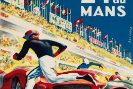 The Toughest Race in the World through vintage posters