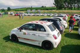 More Than 100 Cars at the Abarth Club Cuneo Meeting