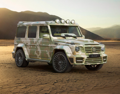 The New Mansory G63s is the Ultimate Desert Fighter