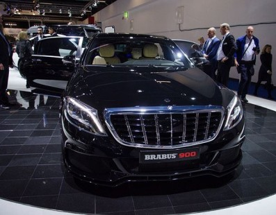 The New Brabus Rocket 900 Is The Fastest Apartment In The World