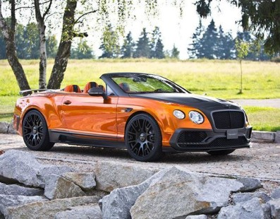 Halloween Anyone? This Mansory Continental GTC Seems Fine To Us