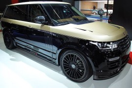 Mansory Unveils Extremely Luxurious Range Rover