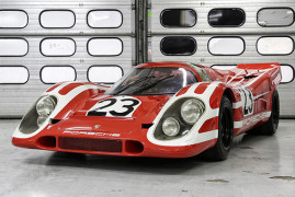 #23 Porsche 917 Is More Work Of Art Than Car
