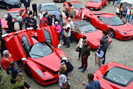 Scuderia Ferrari Club Meeting in Monferrato