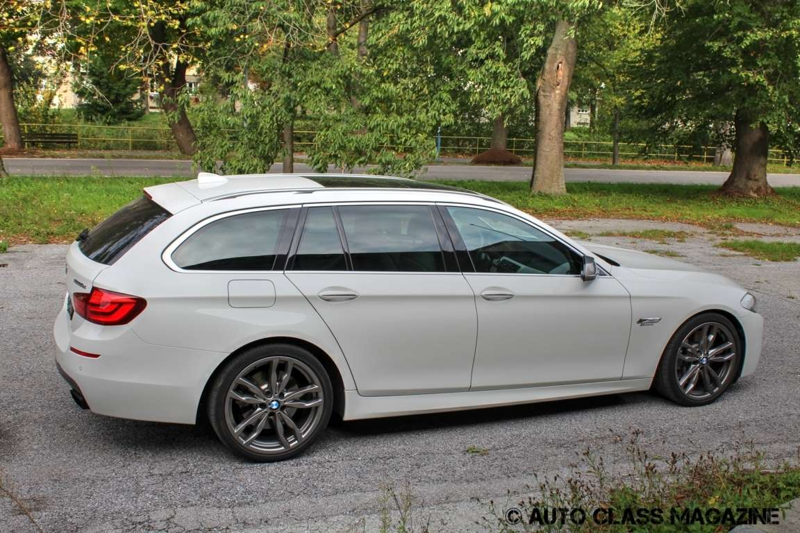 Tested Bmw M550d Touring Auto Class Magazine