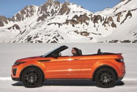 Prepariamoci All'Inverno … Con L'Evoque Convertible