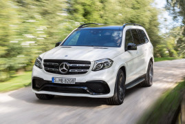 The GLS63 AMG Is The Meeting Point Between a Brick Wall and Lots of Horsepower