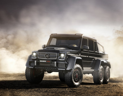 Review: Brabus G700 6X6