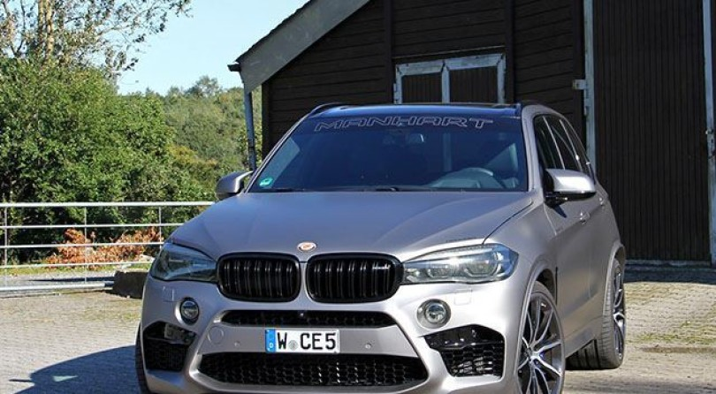 Do You Think The X5 M Is Too Shy? Get A 700HP Manhart!