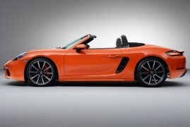 The 4-Cylinder Turbo of the new Porsche 718 Boxster Won't Let You Down