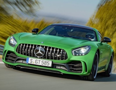 AMG GT R: 577HP From Inner (Green) Hell