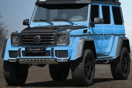 Mansory G500 4X4 Squared: The Hyper 4X4 We Missed So Far