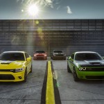 New 2017 Dodge Challenger T/A and Charger Daytona – two performance-upgraded models infused with heritage style.  Dodge believes the golden age of performance cars is now, making this year's Woodward Dream Cruise the perfect time and place to reintroduce the brand's two famed, race-bred nameplates — the new 2017 Challenger T/A and Charger Daytona — muscle cars that deliver even more performance and precision to the naturally aspirated HEMI® V-8 lineup with unique powertrain induction and exhaust enhancements, chassis upgrades for greater handling and braking, plus functional performance styling appointments inside and out.