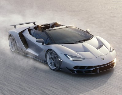 Pure Roofless Madness Thanks To The Lamborghini Centenario Roadster