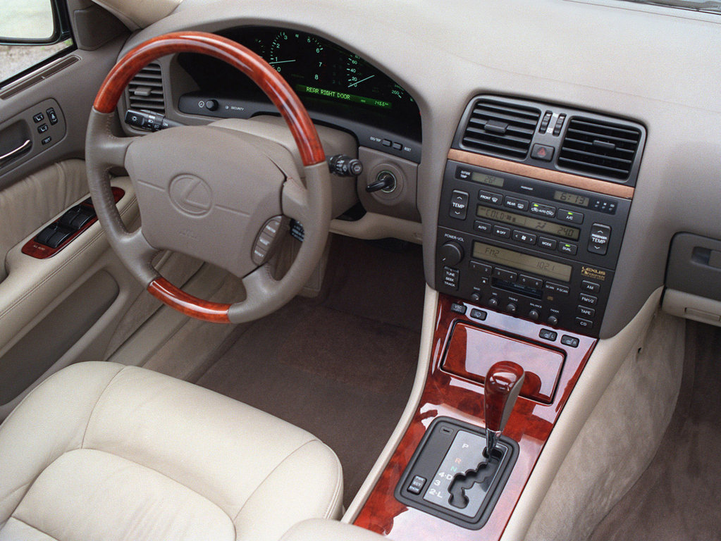 Lexus Ls400 Still Offers Good Value For Money Auto