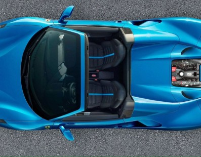 Capristo 488 Spider: Carbon Fiber Cover to Admire The Mighty V8