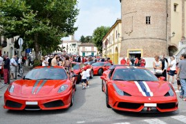 Annual Ferrari Gathering In Mirabello Monferrato