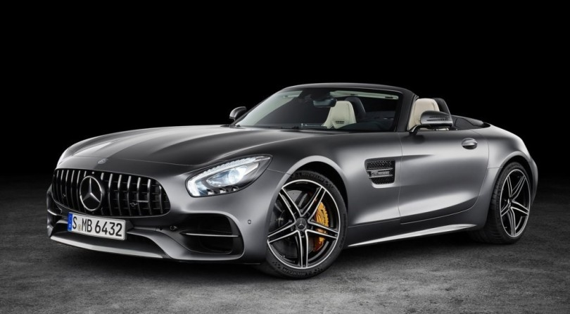 AMG GT C: Topless Enjoyment Coming Soon