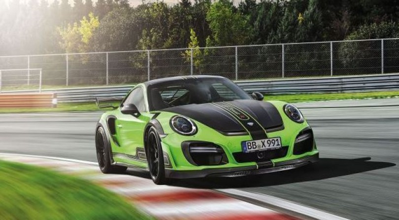 Stop What You're Doing And Drop Your Mouth In Front Of TECHART's 710HP 911 GTStreet R