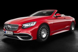300 Units Each at €300K For The Maybach S650 Cabrio