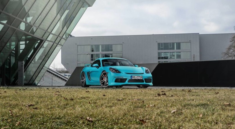 Techart 718 Cayman S: The Faster The Better
