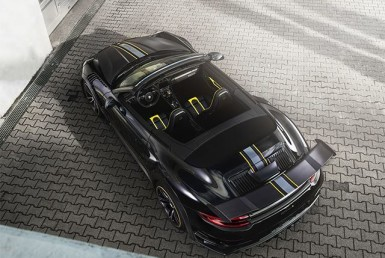 Speed Has A Shape, That of Techart's GTStreet R Cabriolet