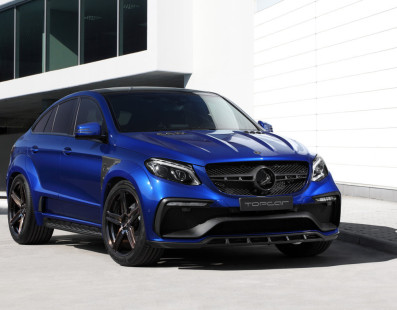 Inferno Is a Common Name to Represent TopCar's GLE Coupe