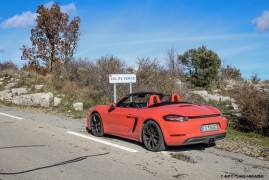 Porsche 718 Boxster S: Escape To The World of Dreams