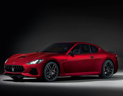 The New Maserati GranTurismo Keeps Its Sexy Look