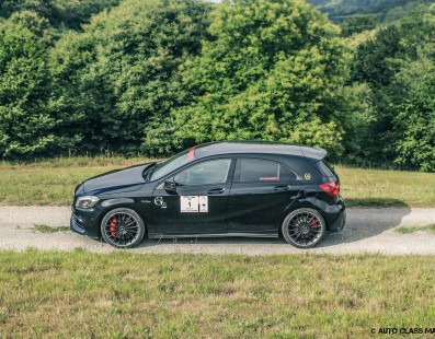 My Col de Turini In An A45 AMG
