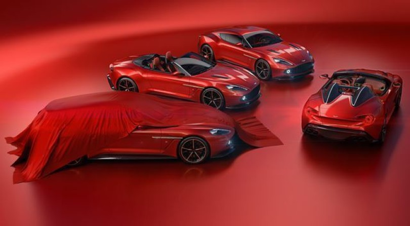 Zagato and Aston Martin Family Gets A New Member: The Vanquish Shooting Brake