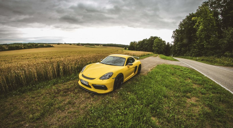 That Time Techart Gave Me a Yellow Super-Cayman