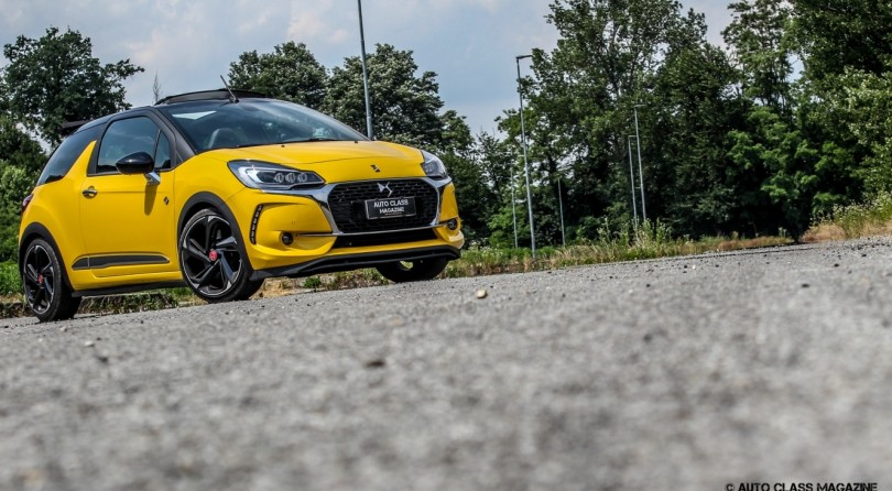 DS3 Performance Cabrio: Kiss By The Sun