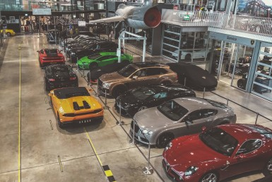Motorworld Looks Like A Toy Supercars Pit of Dreams
