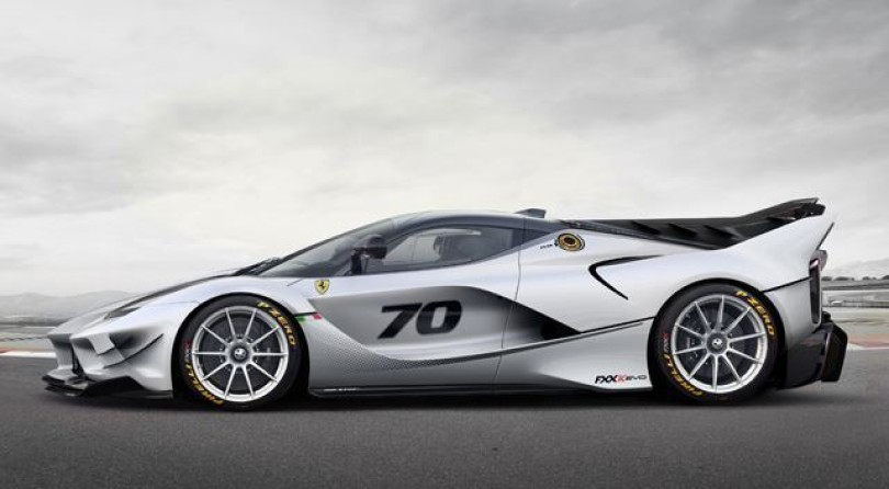 Ferrari FXX K Evo: And The World Stood Still