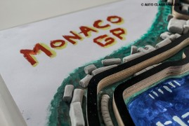 This 1/1 Handmade Bas-Relief of the Monaco Grand Prix Is Your Ultimate Christmas Request