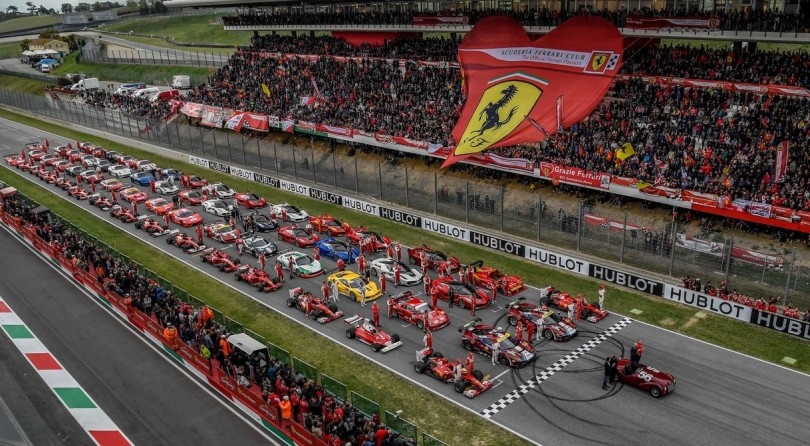 Ferrari Ends 70 Years Celebrations With The Finali Mondiali