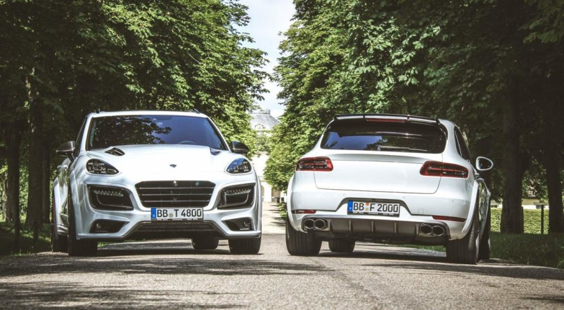 Techart Magnum Turbo & Macan: Divoratori Di Strade