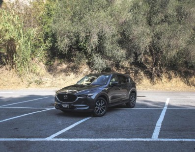 Mazda CX-5: Stop At The Top