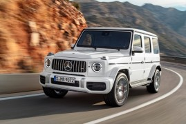 New Mercedes AMG G63: Here Comes The Boss