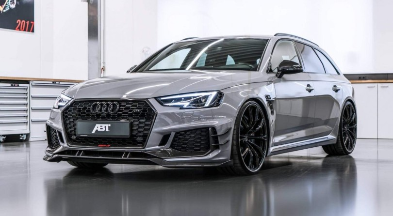 ABT Sportsline Unveils The Angriest Audi We've Ever Seen.