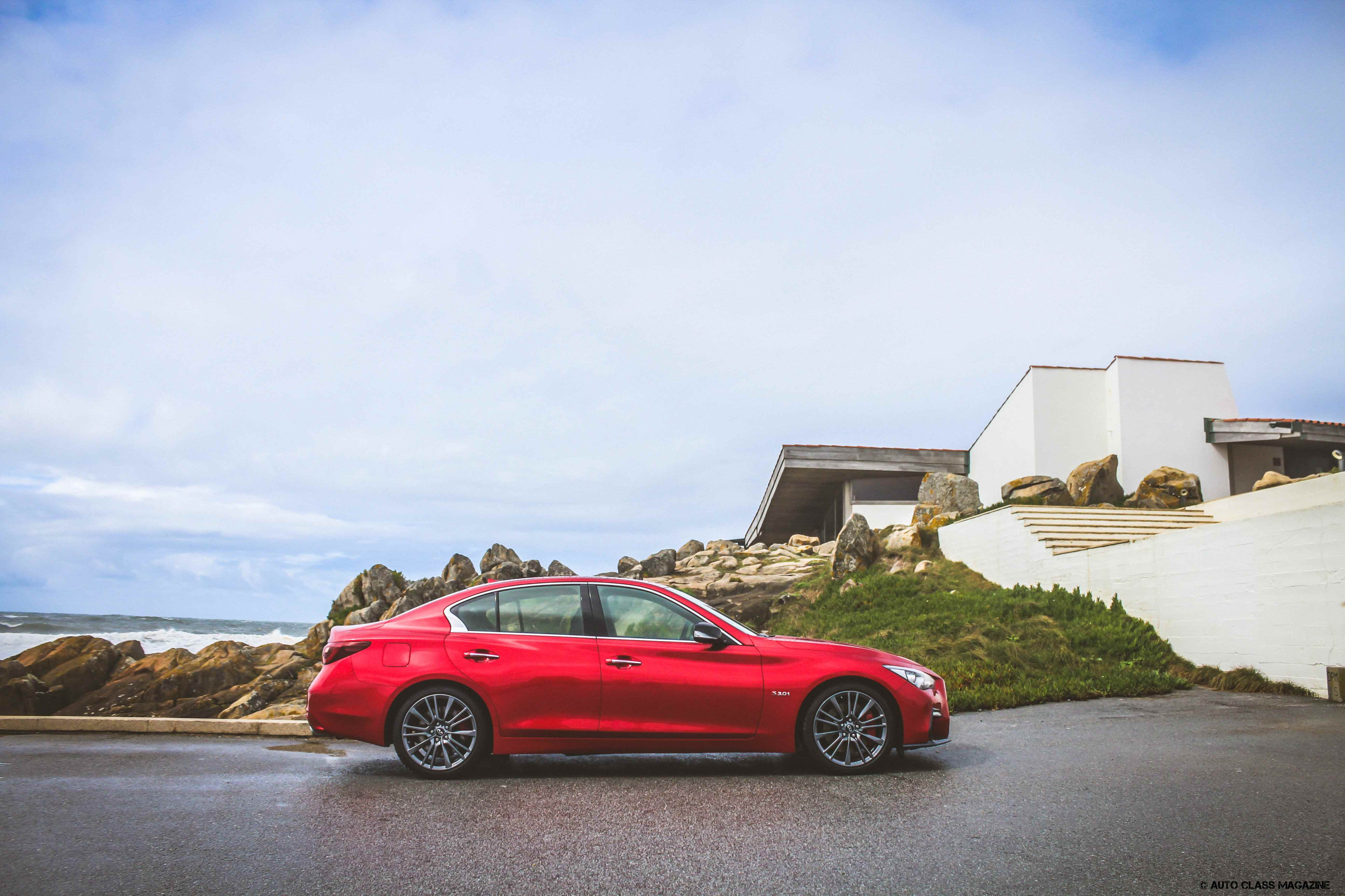 Sailing For New Horizons With The New Infiniti Q50 S